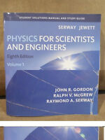 Solutions Manual, Physics for Scientists and Engineers Volume 1