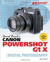 David Busch's Canon Powershot G1X - Guide photography 20$