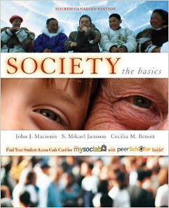 society the basics 4th cdn edition