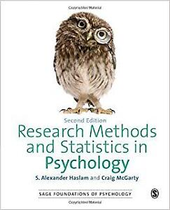 Research methods and statistics in psychology by Haslam
