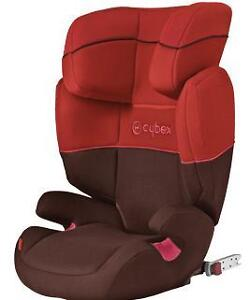 MAMAS AND PAPAS UNUSED COVERS FOR CYBEX  FREE FIX CAR SEAT IN BLACK OR RED