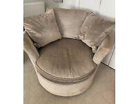 Laura Ashley Comfy Swivel Chair