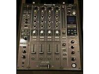 PIONEER DJM 900 NEXUS nxs2 4 CHANNEL mixer MINT