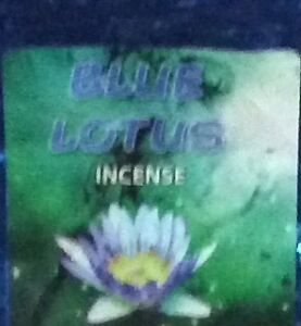 Blue Lotus Packet Incense Herbal Denhams Beach Eurobodalla Area Preview
