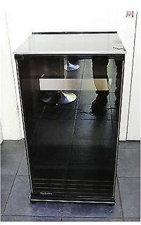 Vintage Rare Technics Hs 680 Hi Fi Seperates Smoked Glass