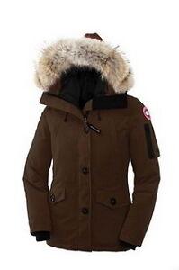 Women's MonteBello Parka Brown Canada Goose