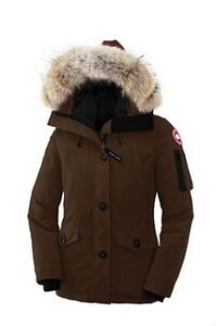 Women's MonteBello Parka Brown Canada Goose