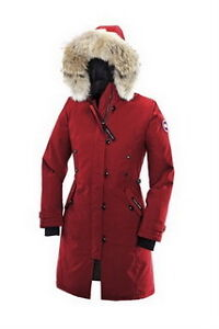 Canada Goose Women Kensington Parka Red