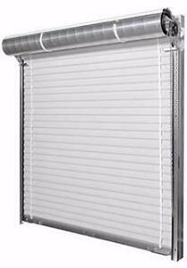 New White 10' x10' Roll-up Door