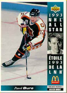 1993-94 McDonald's hockey cards (27 card set,no holograms or CL) City of Halifax Halifax image 3