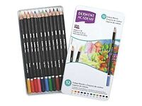 Job Lot of 48 Tins of Derwent Academy Colouring Pencils Tin - Set of 12 2301937