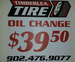 Mechanical Services !Oil Changes, Tires Sales, Install, Balance