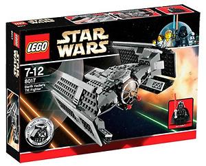 Lego Star Wars 8017 Darth Vader Tie Fighter complet Briques Cité