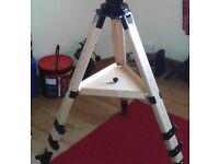 Berlebach UNI-28 wooden telescope tripod for HEQ5/ EQ5 / EQ3-2 / giro & AZ4 mounts