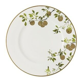Waterford Golden Apple Fine Bone China Charger Plate New In Box