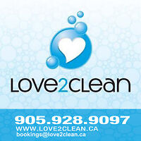 Residential Contract Cleaners Needed