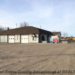 TRUCKING YARD 3.5 ACRES TWO LARGE BUILDINGS ZONED CR-3