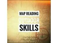 Map reading outdoor navigation skills safety smart