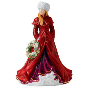 Royal-Doulton-2013-Annual-Christmas-Figurine-of-the-Year-Holiday-Greetings