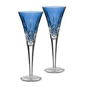 waterford lismore toasting flutes - Waterford Champagne Flutes
