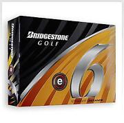 Bridgestone E6 Golf Balls New