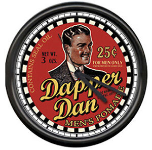 Dapper-Dan-Barber-Shop-Hair-Pomade-Sign-Wall-Clock