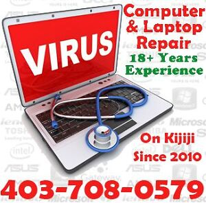 Experienced Computer/Laptop Repair for less than the shoppe