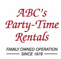 ABC's Party Time Rentals