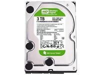 WD Green 3tb Hard Drive * NEED GONE TODAY *