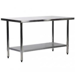 "30""x60"" Stainless Steel Work Table,  Commercial Kitchen"