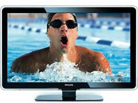 philips 47pfl5604h . lcd tv . good condition . free view build in