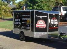 COFFEE TRAILER/VAN/CART FOR LONG TERM LEASE- The Mobile Brew Crew Mitchelton Brisbane North West Preview