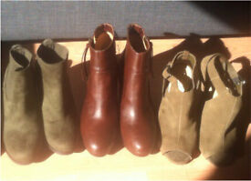 3x size 6 boots- great bargain!!!