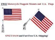 Motorcycle Flag Pole Mount