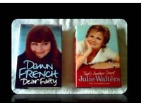 COMEDIENNE BIOGRAPHIES - (2) - FOR SALE