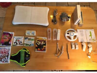 Wii, Wii games and accessories, bundle for sale in good condition. Ono.