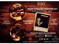 2gether in Chelsea Presents Embargo App Summer Drinks Vol 3