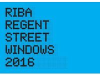 RIBA REGENT STREET WINDOWS 2016