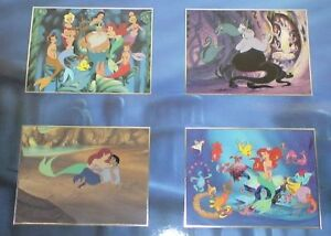 Walt Disney - Commemorative- 4 Lithographs - Lady & the Tramp