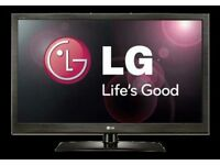 "LG 42"" lcd tv built in freeview full hd ready 1080p."