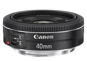 Canon EF 40mm f2.8 pancake lens new in a box Thebarton West Torrens Area Preview