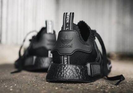 Adidas NMD r1 PK triple black Japan