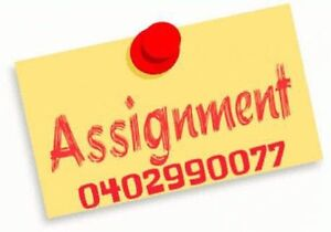 Assignment help for All subjects Perth Perth City Area Preview