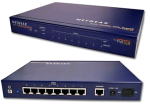 FVS318v3 – Cable/DSL ProSAFE VPN Firewall with 8-Port Switch