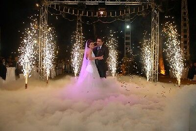 Le Maitre dry ice machine for weddings