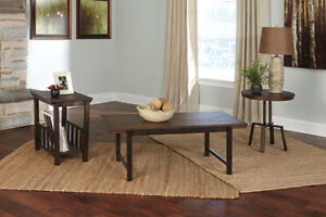 New Riggerton Round End Table