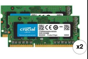 PC3-12800 DDR3 204-pin SO-DIMM - 2x4 gb or 2x8gb wanted