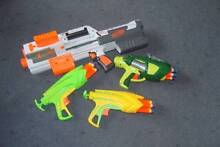 Nerf Guns with bullets, x 4 Deloraine Meander Valley Preview