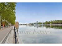 Riverside One Bed Apartment with Stunning Views close to Canada Water Tube. Available NOW £290 pw
