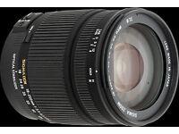 SIGMA 18-250 OS to fit Canon EOS cameras
